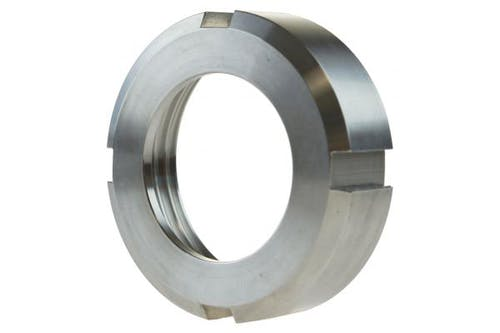Nutmutter für Kegelstutzen, DN50, Edelstahl, DIN 11851